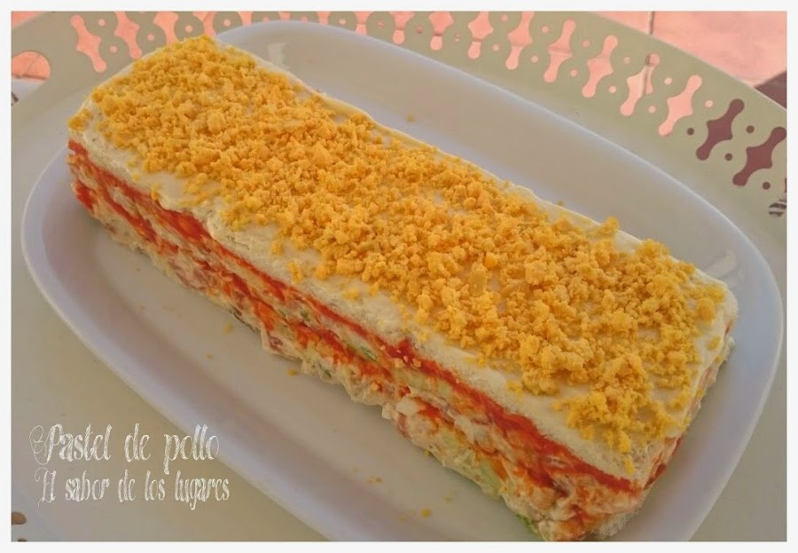 Pastel de pan de molde Cocina