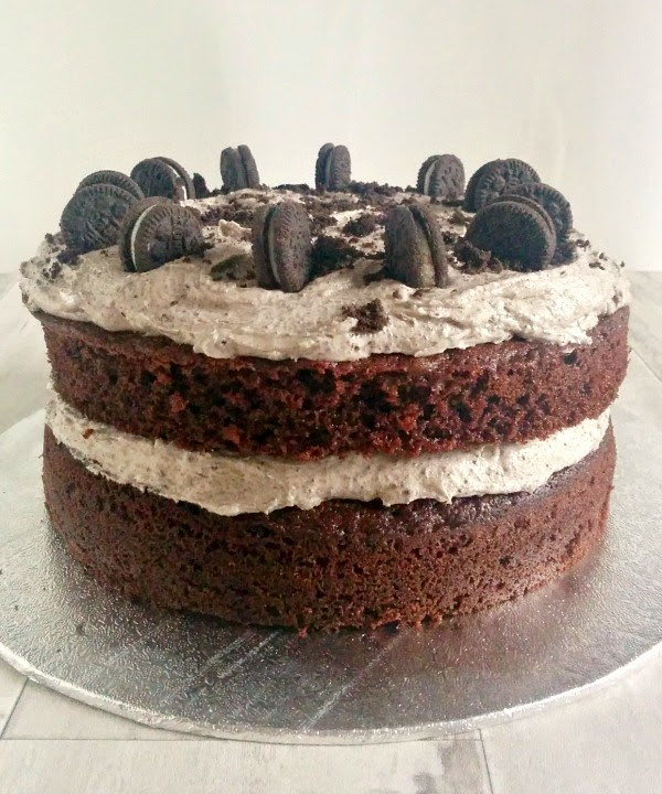 Oreo Chocolate Cake by mylittlekitchenblog.co.uk