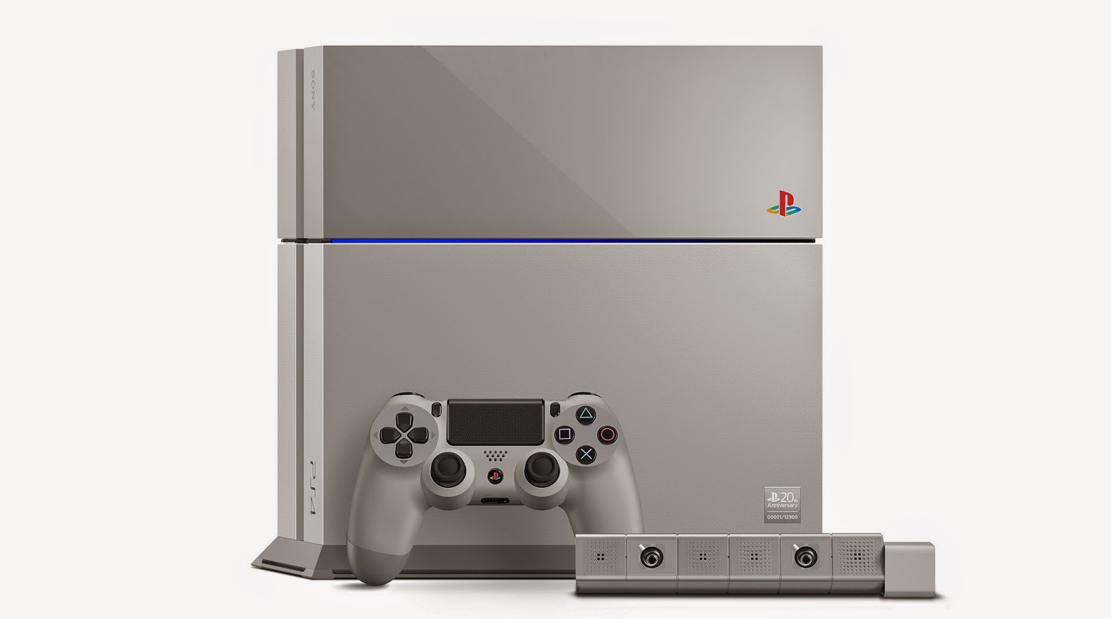 Pocket Hobby - www.pockethobby.com - Hobby News - Sony Limited Edition 20th Anniversary PlayStation 4 Photo