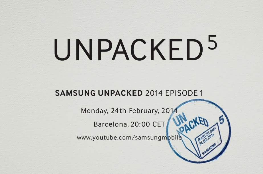 Samsung Galaxy S5 Unpacked 2014