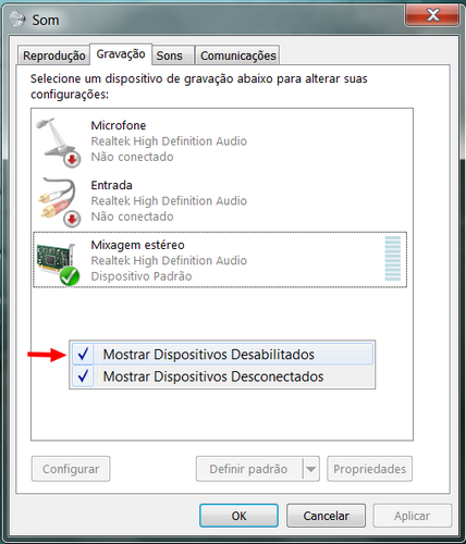como usar gravador de som windows 8 2013