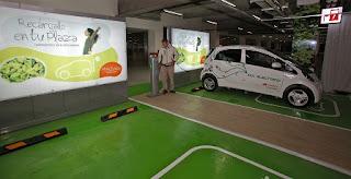 punto de recarga auto electrico