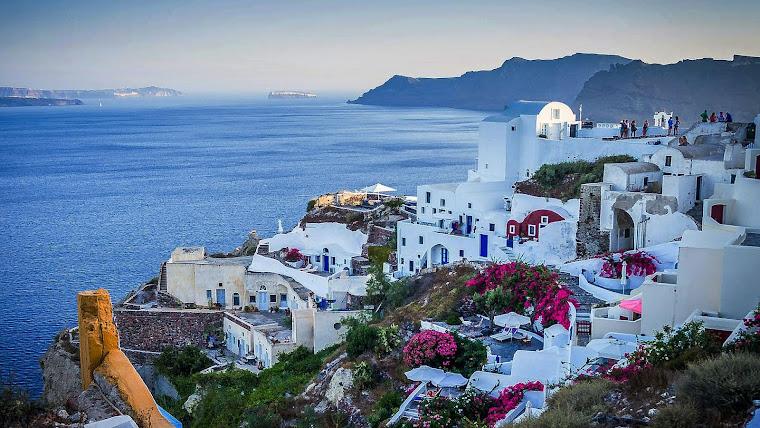 Santorini, Grecia. Foto tomada de internet.