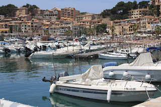 Port de Soller in Mallorca