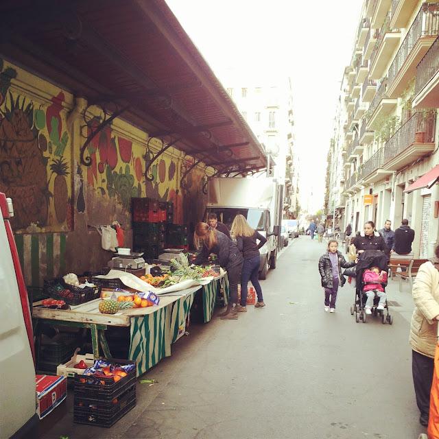 mercado de Gracia