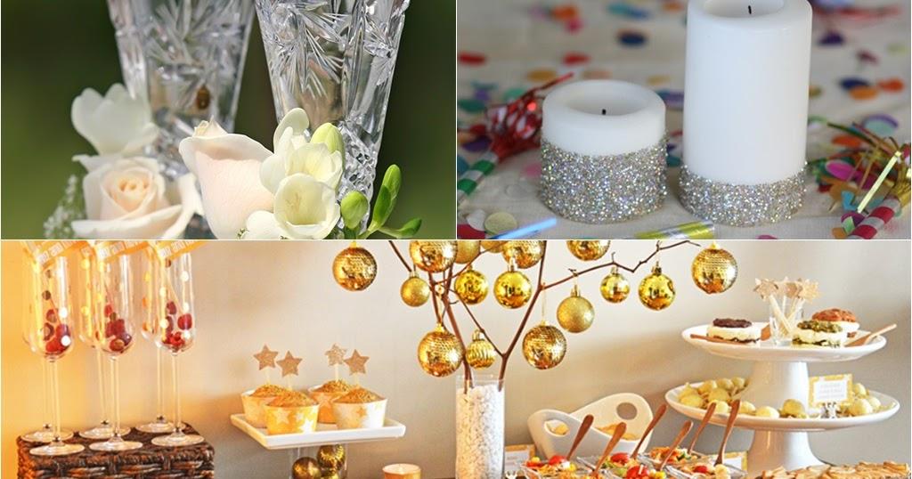 12 Ideias de decoração para o réveillon - Amando Cozinhar ...