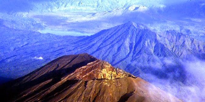 Gunung Agung di Bali - Indonesia