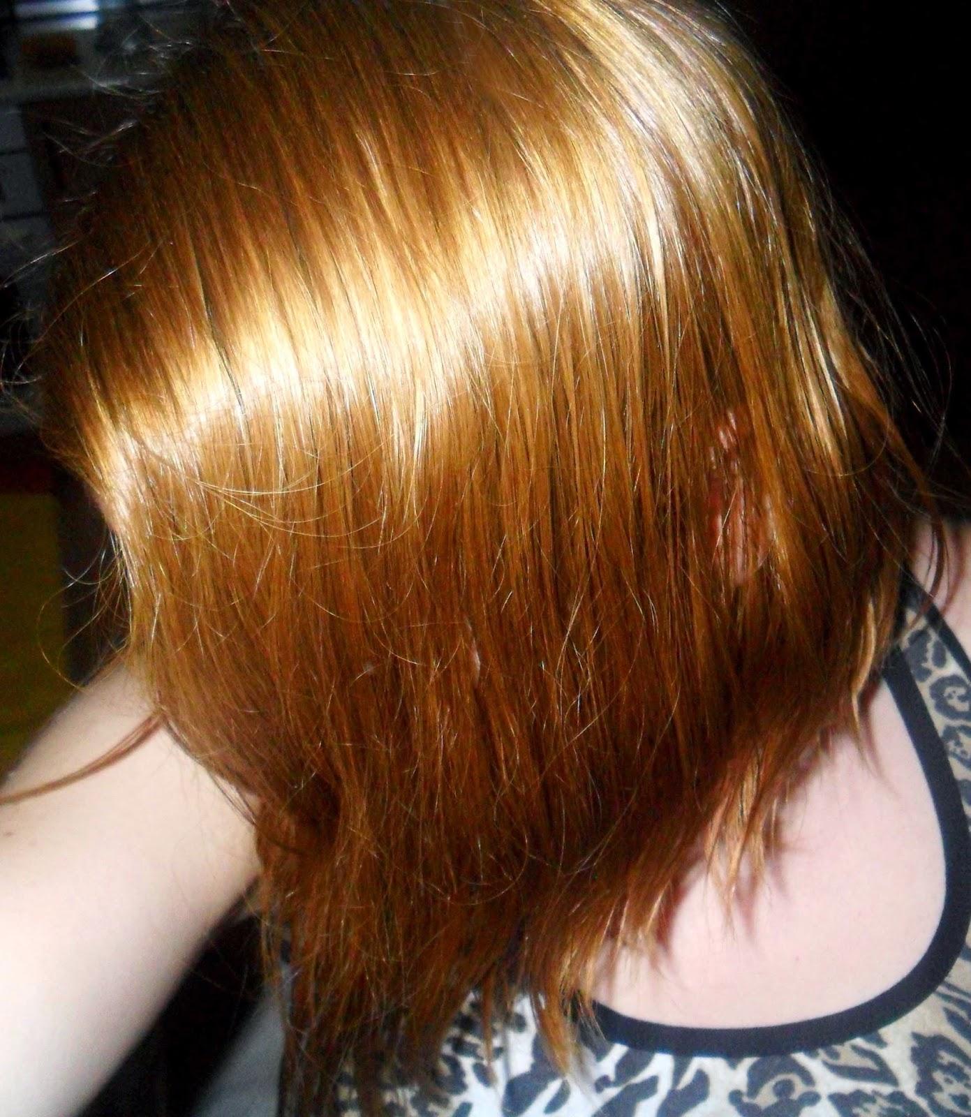 primera aplicacion para matizar el cabello rubio