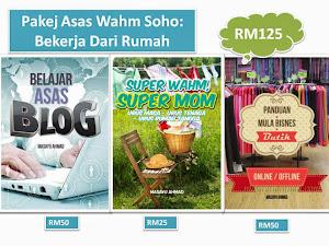 E-Book Pakej Asas WAHM SOHO