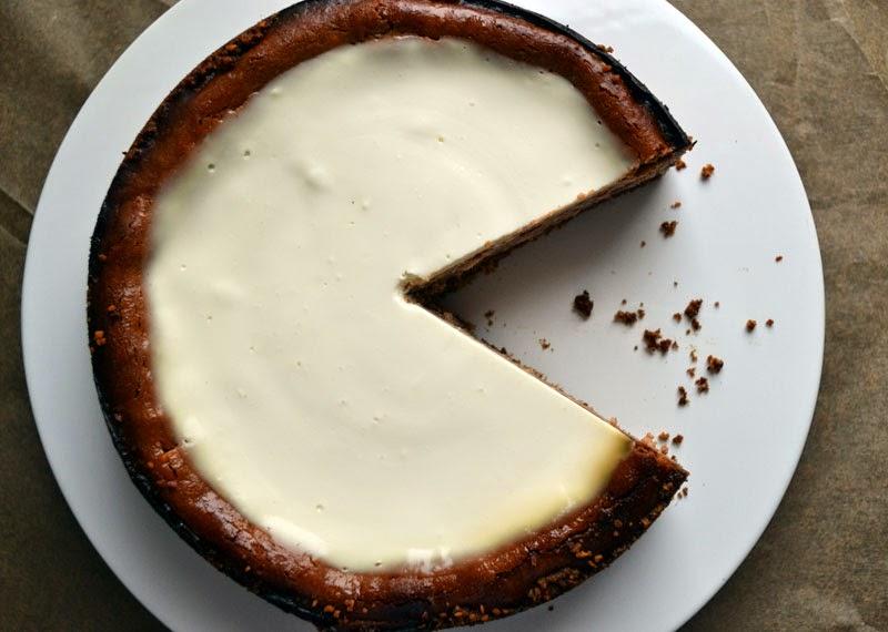 Nutella-Cheesecake mit Sauerrahm