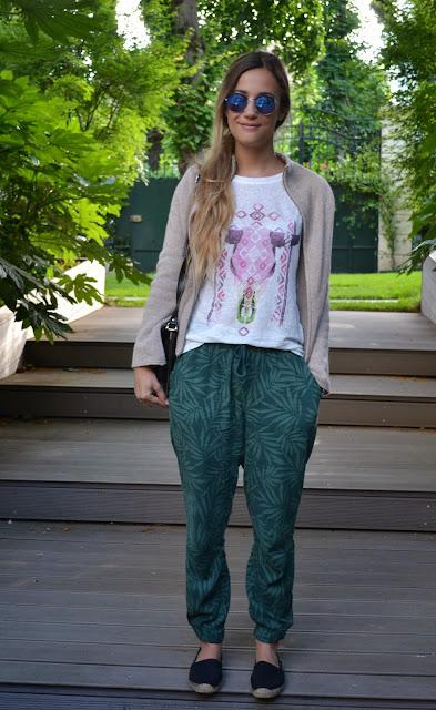 Tee shirt - Zara / Pants - Monoprix