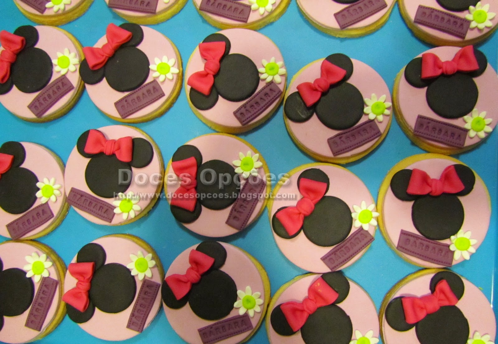 disney's minnie cookies