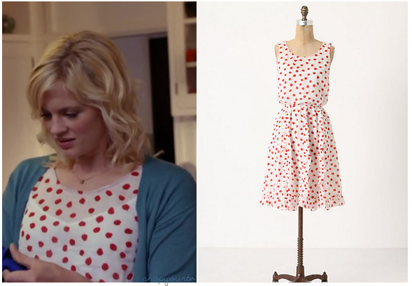 The New Normal Season 1 Episode 1 Goldie S Red Spotted Dress