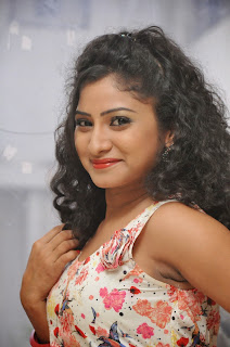 Actress Vishnu Priya Latest Pictures in Short Dress at Nenu Naa Friends Movie Press Meet  45.JPG