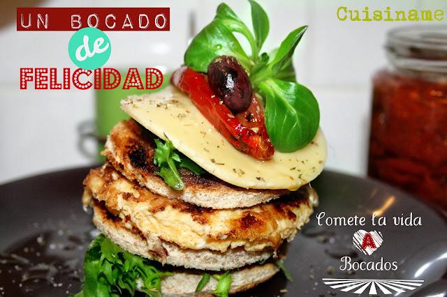 bocadillos, bocadillos gourmet, ensaladas, recetas gourmet, huevos, tortillas, recetas originales, recetas de cocina, blog cocina, humor