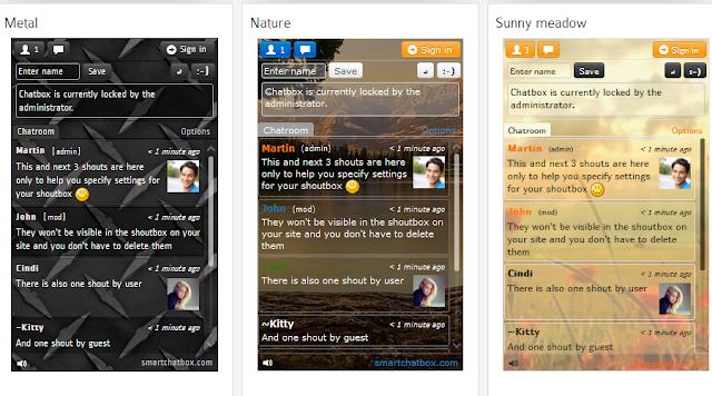 Tambahkan Chat Plugin Stylist Ke Widget Blogger Kamu