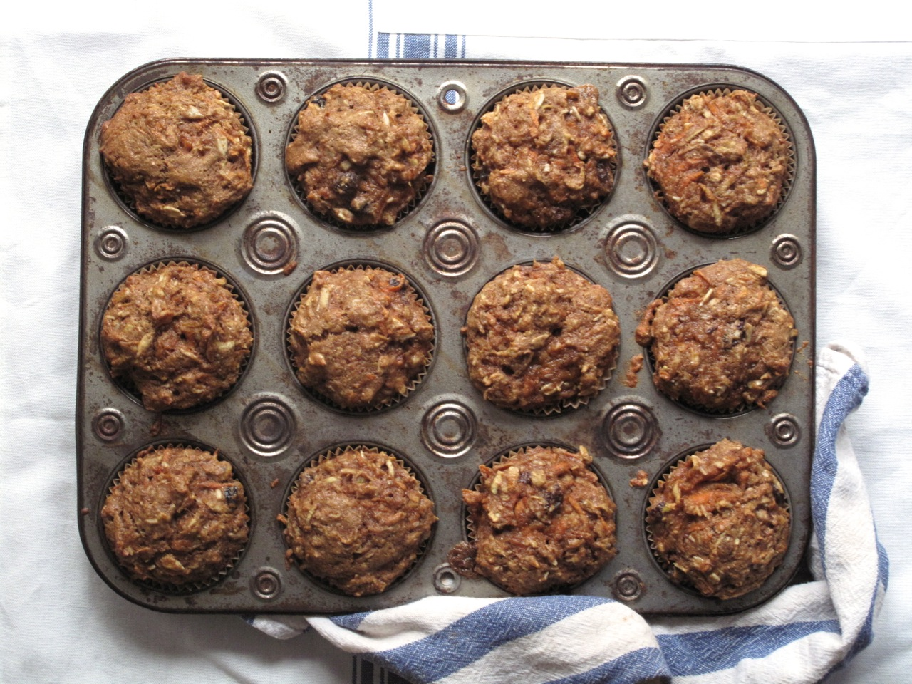 the little house in the city: The Best Morning Glory Muffins Recipe