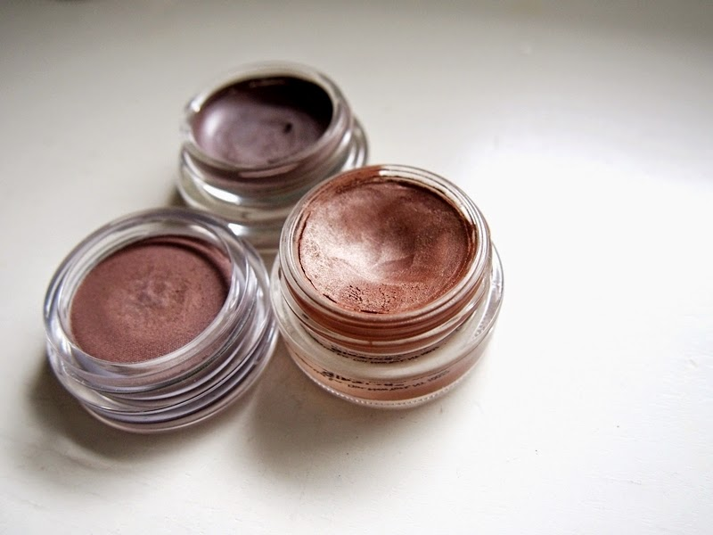 cream eyeshadows