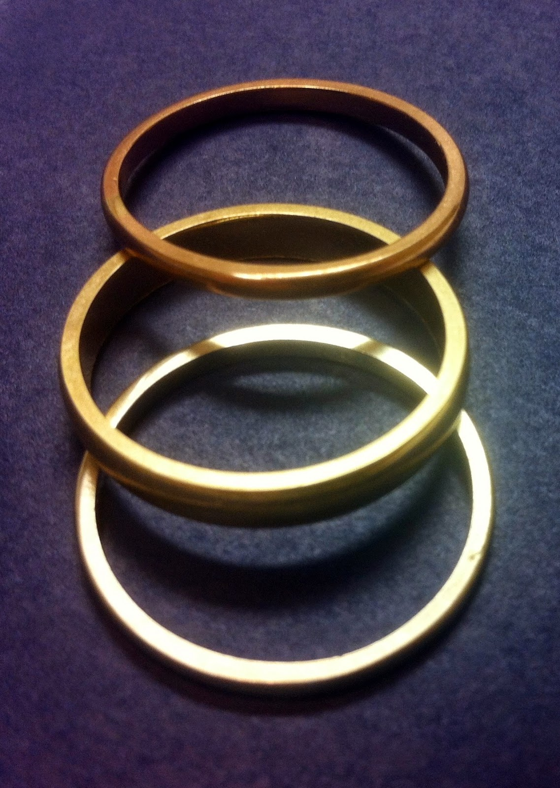 set triple izoa rings of online buy three gold jewellery products trouble