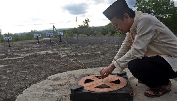 Arah Kiblat Masjid di Bandung Ada yang ke Israel