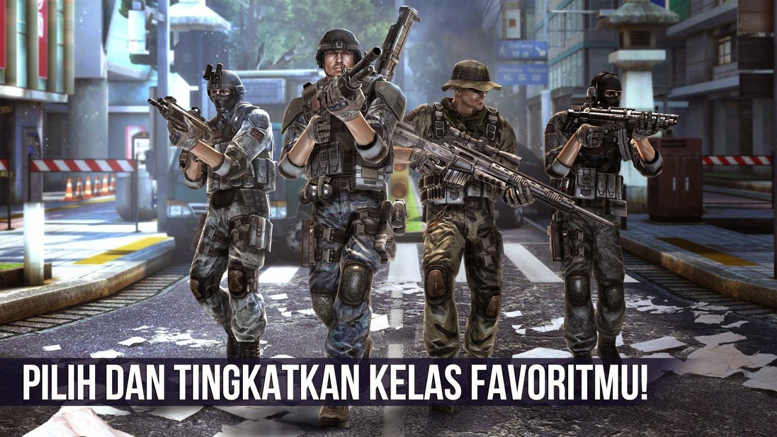 Game keren Modern Combat 5 Blackout Apk+Data Android Full Version tanpa root