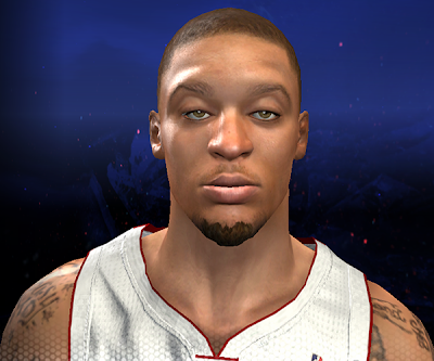 NBA 2K14 Michael Beasley Hair Update Mod