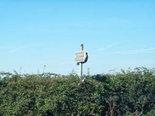 Brown Tourist Sign for Chichester Golf Centre, Hunston
