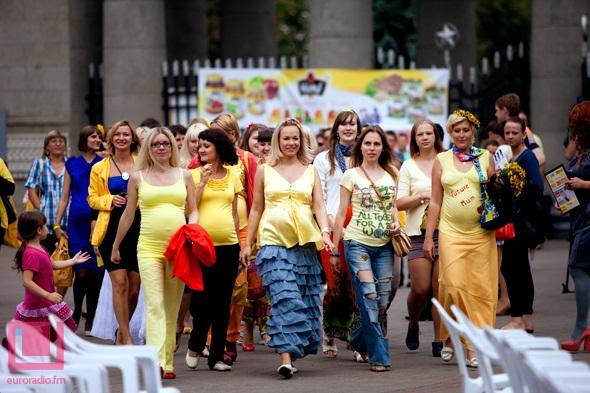 Perarakan Ibu Hamil 2012 Di Belarus (11 Gambar)