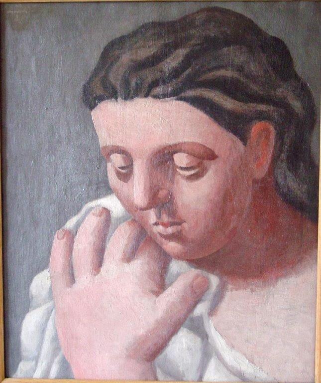 Picasso -Tête de femme
