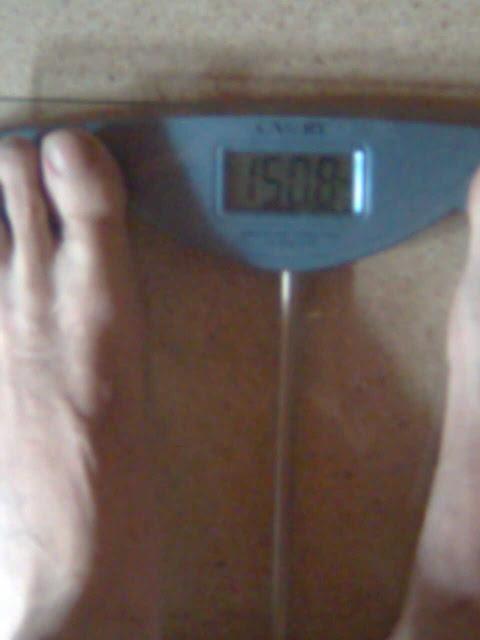 pesaje despues de correr