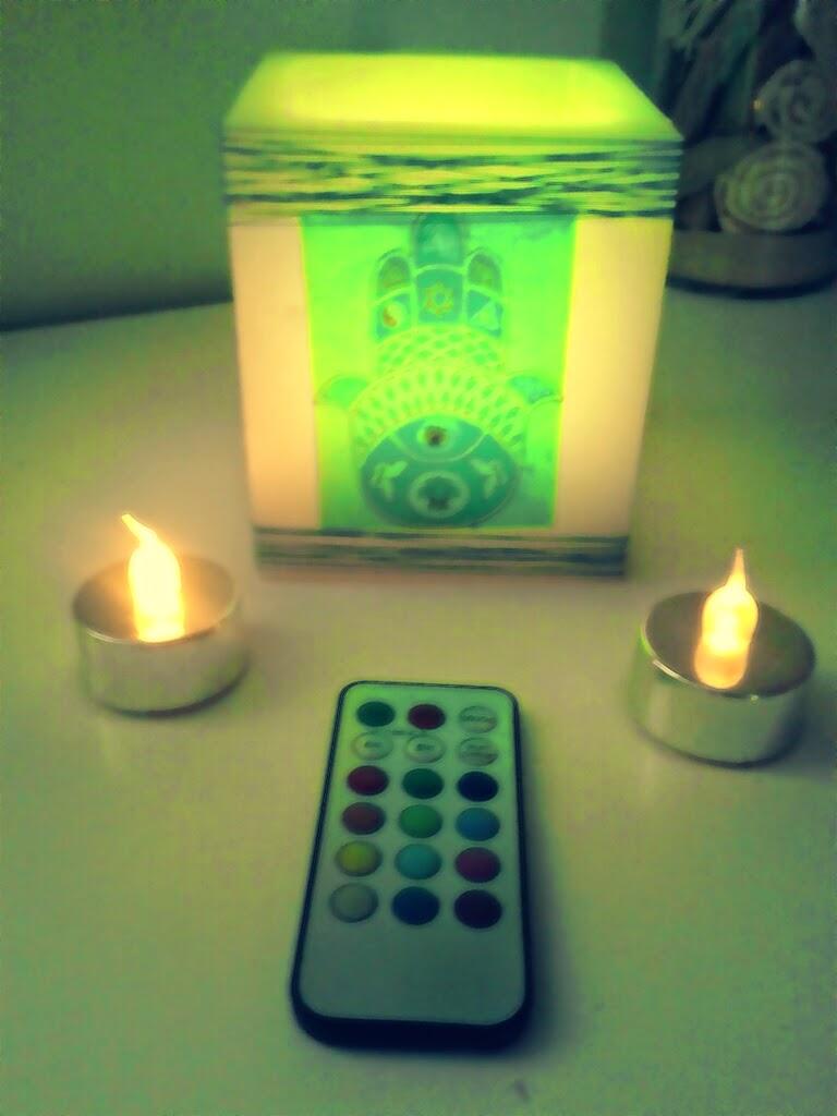 Velisa velas de dise o personalizado vela mano fatima 9 - Velas de diseno ...