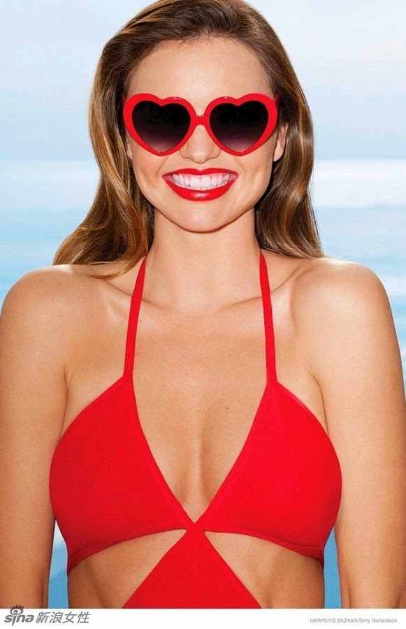 Hot Mama Miranda Is A Magazine Cover Sexy Red Lips