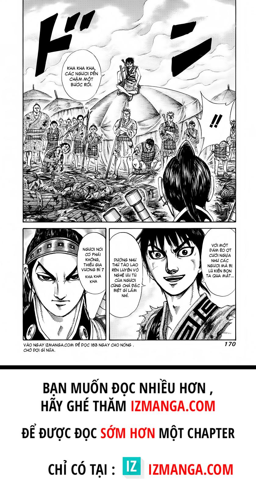 Kingdom - Vương Giả Thiên Hạ Chapter 182 page 19 - IZTruyenTranh.com