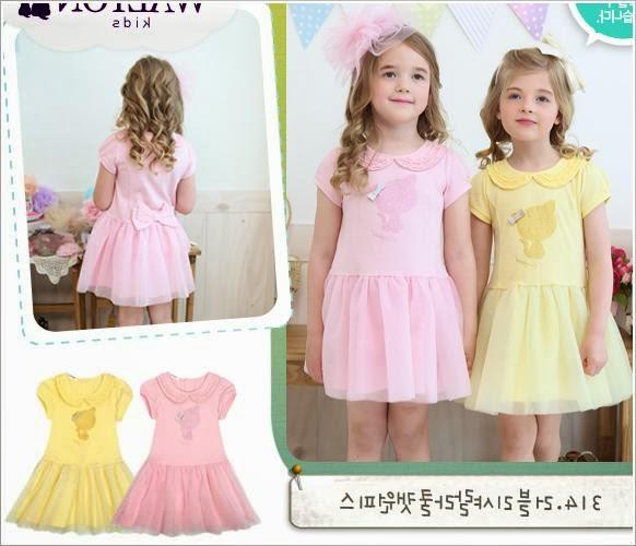 Шитье платья для девочек