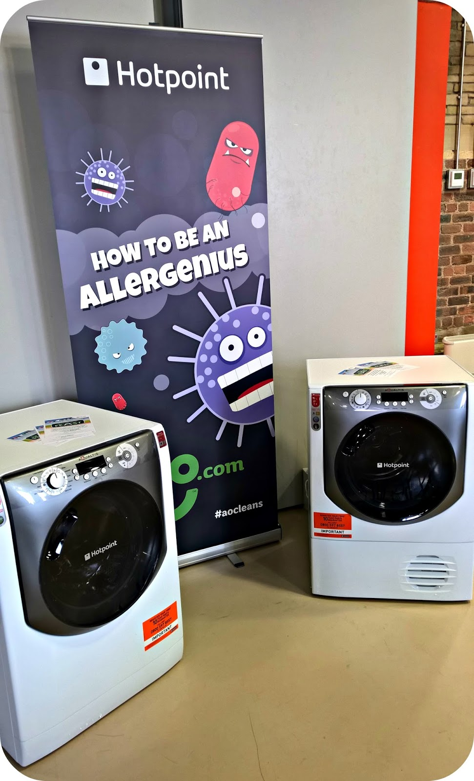 How to be an Allergenius with ao and Hotpoint