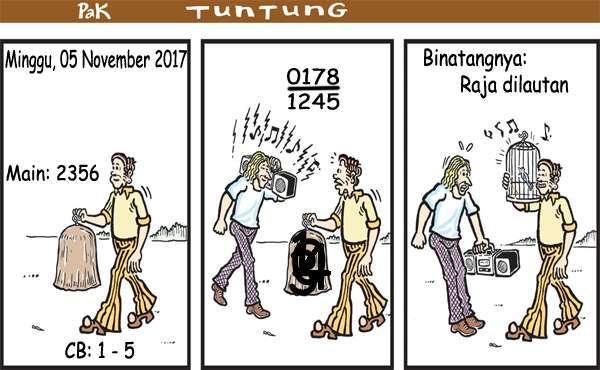 Prediksi Gambar Pak Tuntung Minggu 05 11 2017