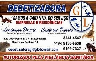 DEDETIZADORA GL