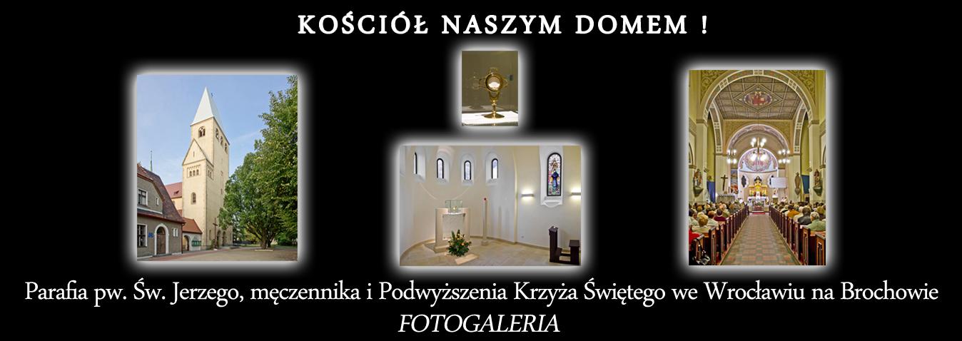 Parafia pw. Św. Jerzego, męczennika i Podwyższenia Krzyża Świętego, Wrocław - Brochów.