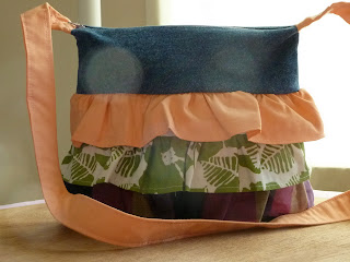 New 'Sarah' Ruffle Purse