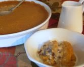 Apple Cider Indian Pudding