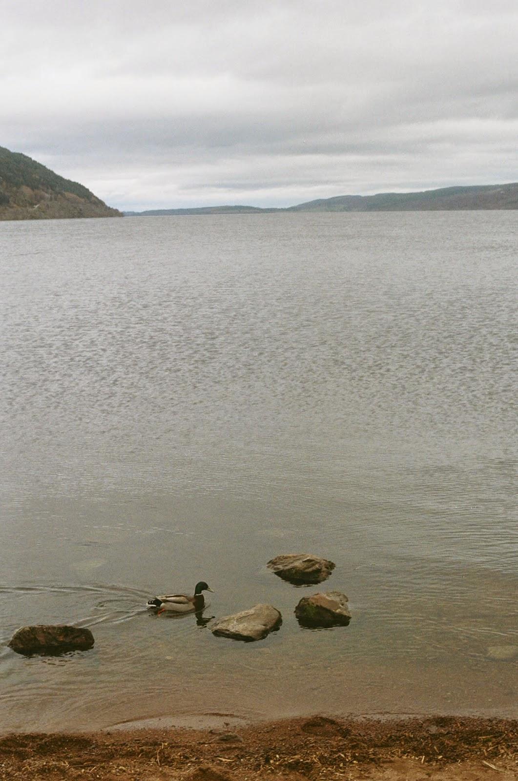 Loch Ness Urquhart Castle Scottish Highlands