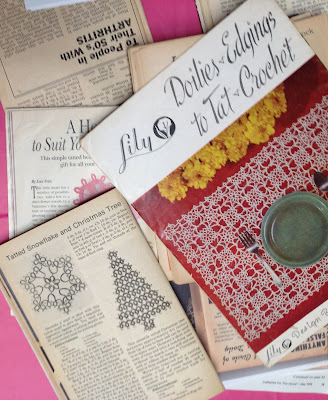 vintage tatting guides