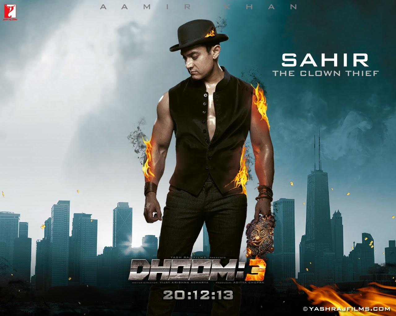 bollywood cinetalk: movie reviews; dhoom 3 (2013) *aamir khan
