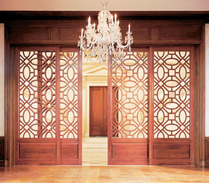 Sliding Lattice Fretwork Doors & Happy Habitat : Adding Architecture with Fretwork