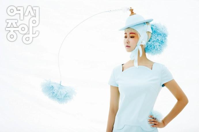 Crayon Pop - Woman Chosun Magazine March Issue 2014
