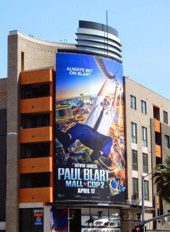 Paul Blart Mall Cop 2 movie billboard