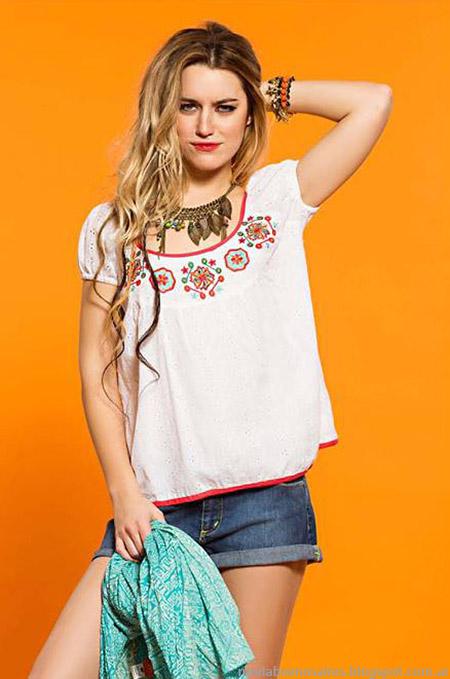 Moda 2015 Shopya shorts y tunicas moda verano 2015.