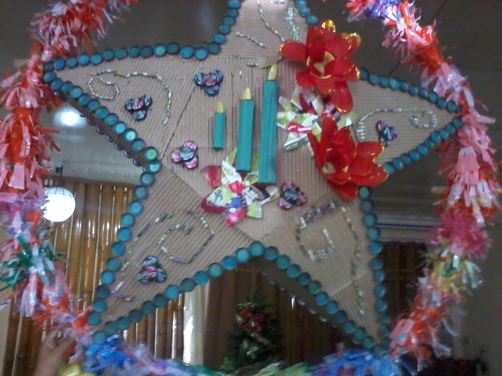MomMy Hanny: Christmas lantern from recycled items