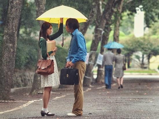 Ảnh đẹp dưới mưa thật lãng mạn
