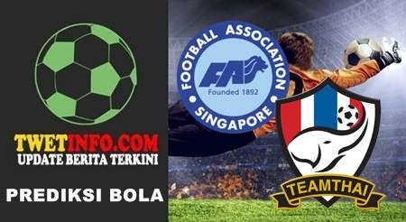 Prediksi Singapore U21 vs Thailand U21